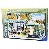 Ravensburger Happy Days at Work, The Baker 500-Piece Jigsaw Puzzle