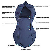 Wallaboo Arctic Footmuff Blue