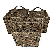 JVL 3 Piece Basket Set