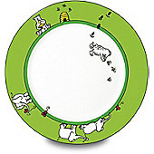 Könitz Childrens Animal Stories - Bear and Elephant Plate (Set of 4)