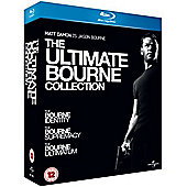 The Bourne Identity/The Bourne Supremacy/The Bourne Ultimatum  (Blu-ray Boxset)