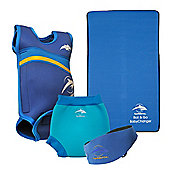 Konfidence Baby Swimming Starter Pack Blue - Blue