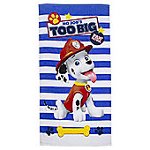 Paw Patrol Striped Beach Towel
