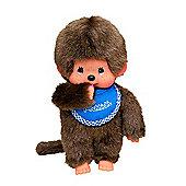 Monchhichi 20cm Classic Boy Blue Doll