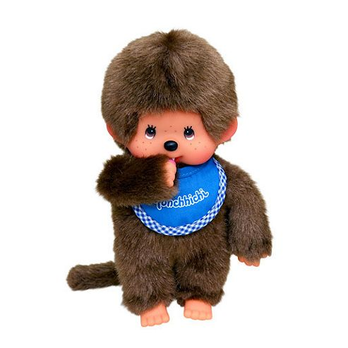 buy monchhichi 20cm classic boy blue doll from our soft toys range tesco. Black Bedroom Furniture Sets. Home Design Ideas