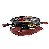 Gourmet Raclette Grill for 6 people