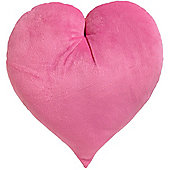 Pink Heart Shaped Cushion