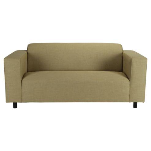 Stanza Fabric Sofa Bed, 2 Seater Sofa Pistachio
