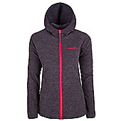 Maple Womens Hooded Fleece - Grey