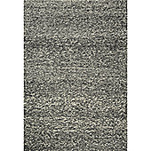 InRUGS Nature Anthracite Woven Rug - 290cm x 200cm (9 ft 6 in x 6 ft 6.5 in)