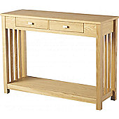 Home Essence Ashmore 2 Drawer Console Table