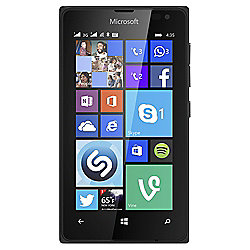 Tesco Mobile Microsoft Lumia 435 Black