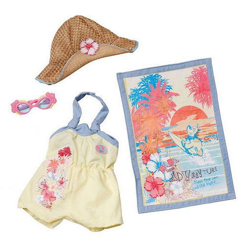 Baby Born Beach Outfit - Yellow