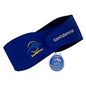 Konfidence AquaBands Ear Bands Blue Baby