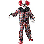 Adult Scary Clown Halloween Costume Large