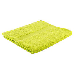 Tesco Basic Bath Towel, Lime