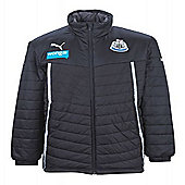 2013-14 Newcastle Puma Coach Jacket (Black) - Black