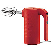 Bodum Bistro Red Hand Mixer