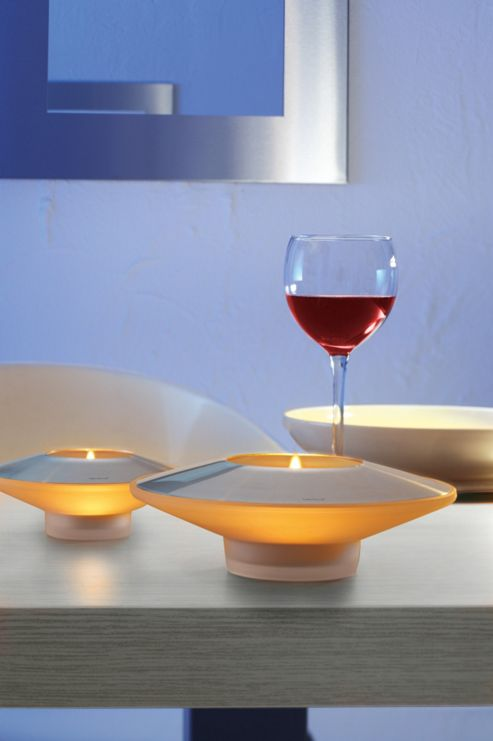 Blomus Aura Reflecting Tea Light Holder (Set of 2) - Small