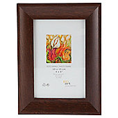"Tesco Dark Wood  Frame 4""x6"""