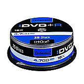 Intenso DVD+R 4.7GB 16X 25-PC spindle