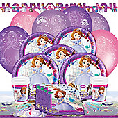 Sofia the First Deluxe Party Pack For 8