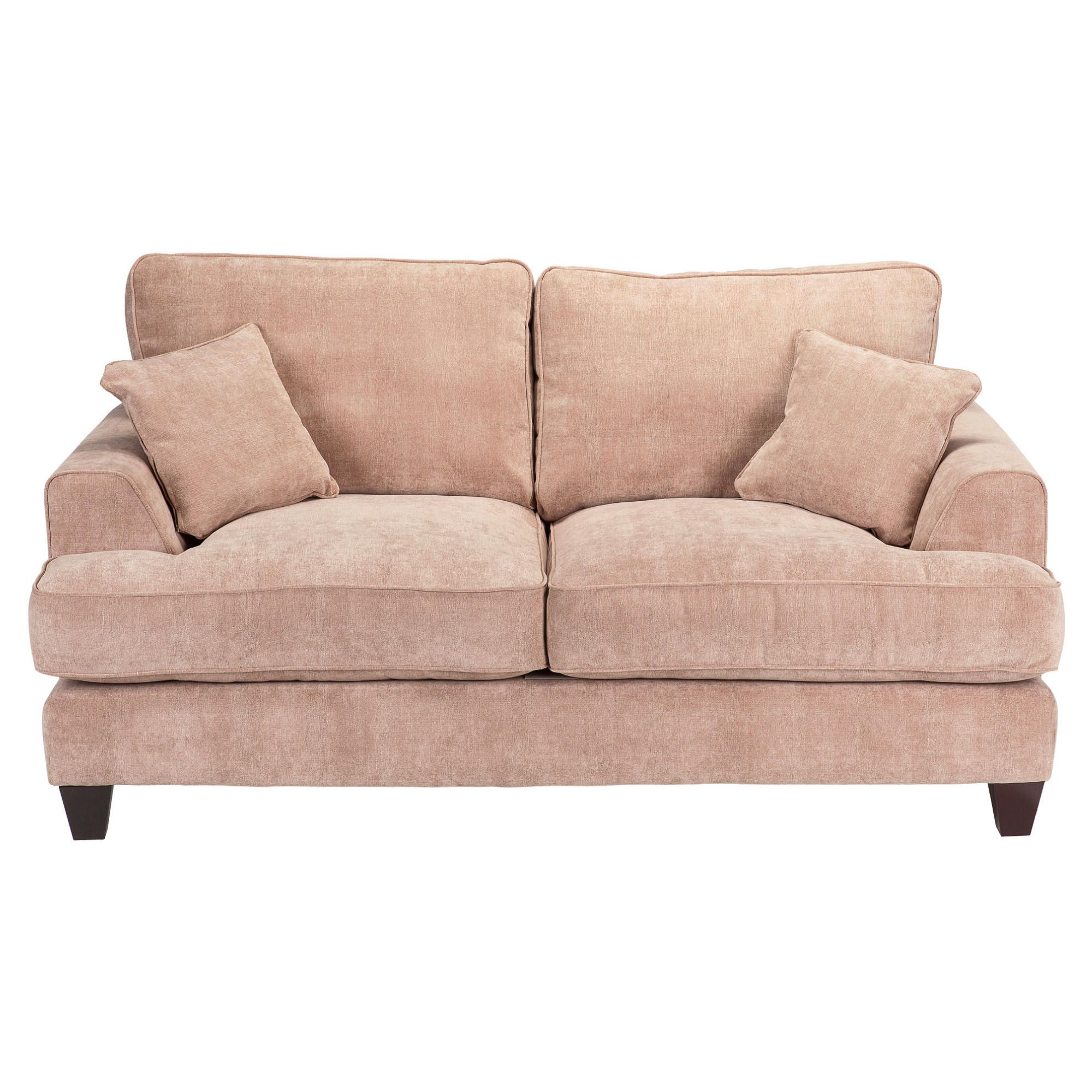Kensington Fabric Small Sofa Biscuit at Tesco Direct