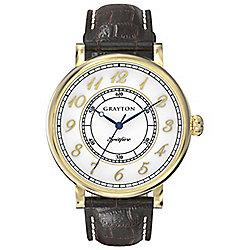 Grayton S-Line Mens Leather Watch GR-0014-001.5