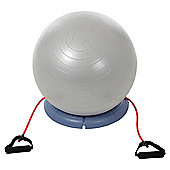 York Fitness Y Gym Ball Set with Base & Tubes