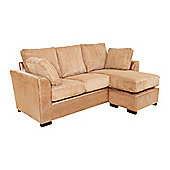 Lucca Chaise Sofa - Cream