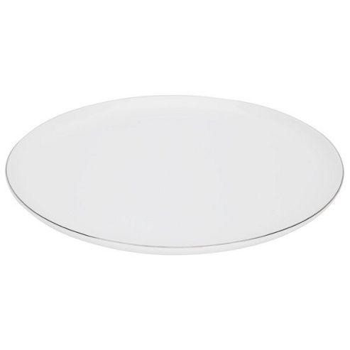 Come Dine With Me 28cm Bone China Dinner Plate