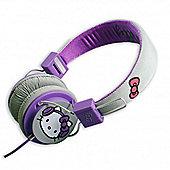 Headphones Grey and Purple