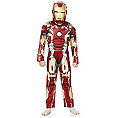Marvel Iron Man Dress-Up Costume - 9-10 yrs