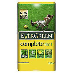 Evergreen Complete Lawn Fertiliser, 200m2