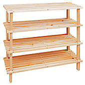 Premier Housewares 4 Tier Shoe Rack