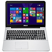 "Asus X555LA 15.6"" Laptop, Intel Core i3, 4GB RAM, 1TB - White"