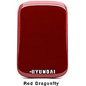 Hyundai H2 Series 750GB External USB3 Hard Drive - Red Dragonfly 30 Day Norton Internet Security Trial H2750WRED