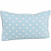 Homescapes Cotton Blue Stars Scatter Cushion, 30 x 50 cm