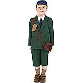 WW2 Evacuee Boy - Child Costume 10-12 years
