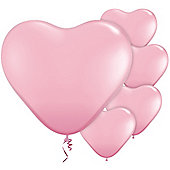 Pink Heart Balloons - 11' Latex Balloon (100pk)