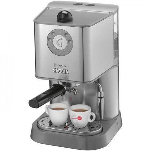 Gaggia RI8159/40 1L Baby Twin Espresso Coffee Machine - Stainless Steel