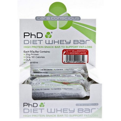Diet Whey Bar Strawberry
