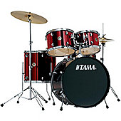 Tama Rhythm Mate 5 Piece Drum Kit With Hardware And Cymbals - White RM52KH5C-RDS