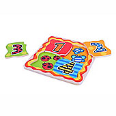 Bigjigs Toys BJ510 My First Matching Numbers Puzzle (Two Supplied)