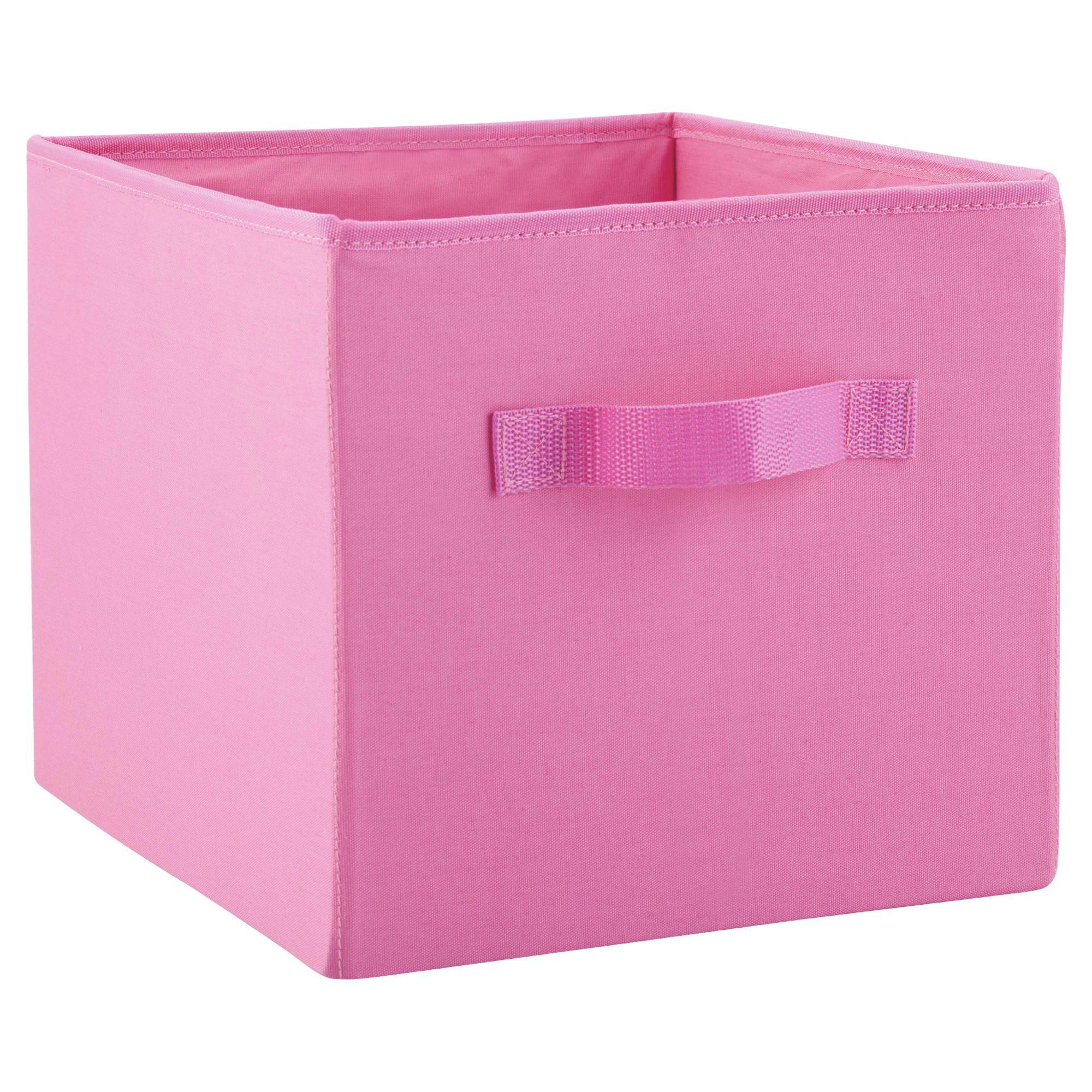 Kids pink storage box