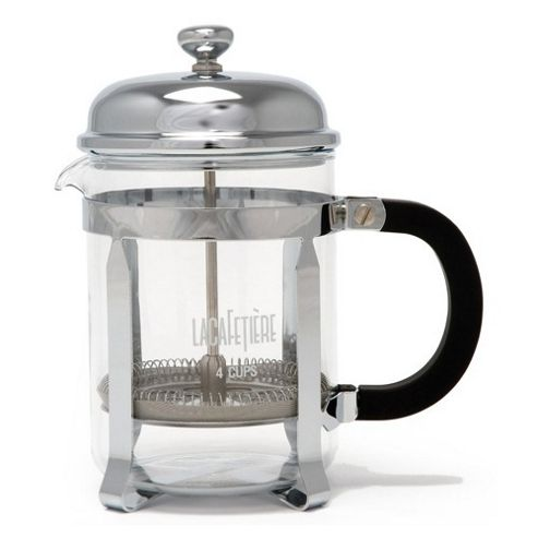 La Cafetiere Classic 4 Cup Coffee Maker in Chrome