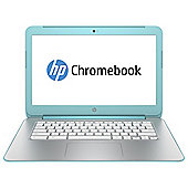 "HP 14-x000na, 14"" Chromebook,  nVidia Tegra K1, 2GB RAM, 16GB SSD - Blue"