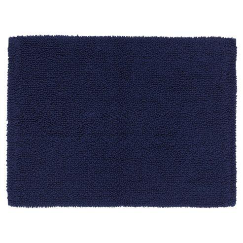 buy tesco standard reversible bath mat navy from our bath. Black Bedroom Furniture Sets. Home Design Ideas