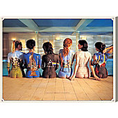 Pink Floyd Back Catalogue Large Canvas Print