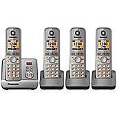 Panasonic KX-TG6724EM Dect cordless telephone - Set of 4